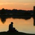Wörlitzer See - Sonnenuntergang