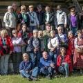Fotogruppe Hausen im Freilichtmuseum Nesbyen
