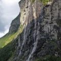 Die sieben Schwestern am Geirangerfjord