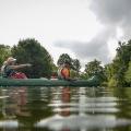 Roth, 10.00 Uhr: Tourstart bei ruhigem Wasser und bestem Wetter, (c) Christian Schnabel