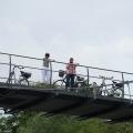 13:20 Uhr: Am Rübsamen-Steg warten schon die Streckenbegleiter, (c) Barbara Ritzkowski