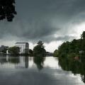 15:17 Uhr: Gewitterfront über Klinkels Mühle, (c) Barbara Ritzkowski