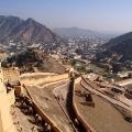 Blick vom Amber Fort - Jaipur