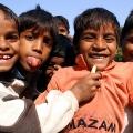 Dorfkinder - nahe Ranthambhore