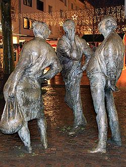 Die Schwätzer und der Weihnachtsmarkt (c) Renate Klinkel
