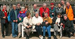 Fotogruppe Hausen auf der Mathildenhöhe