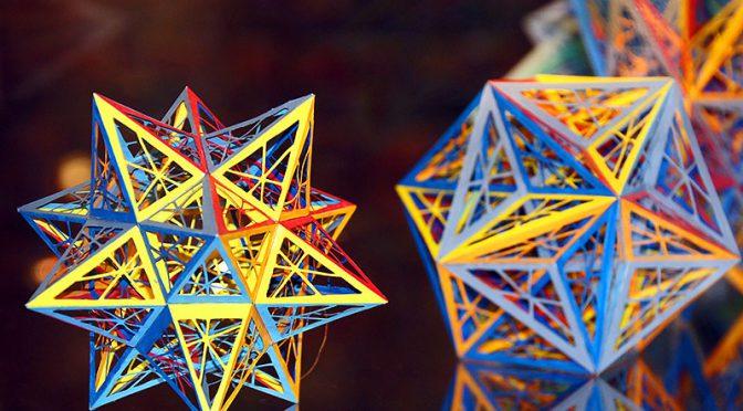Winfried Diegelmann: Polyeder als mathematische Kunst
