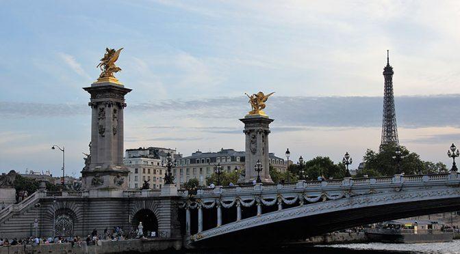Winfried Diegelmann: Auf der Seine nach Paris