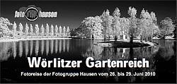 Wörlitzer Gartenreich - Einladung zur Fotoreise